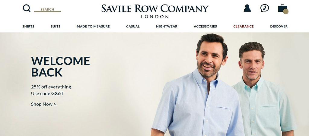 saville row company
