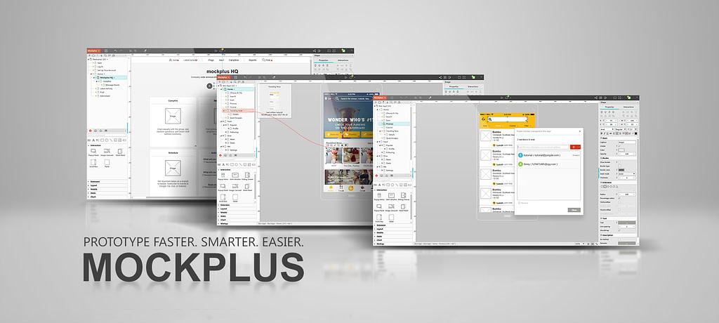 Mockplus screenshots