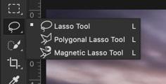 photoshop selection tools lasso tools