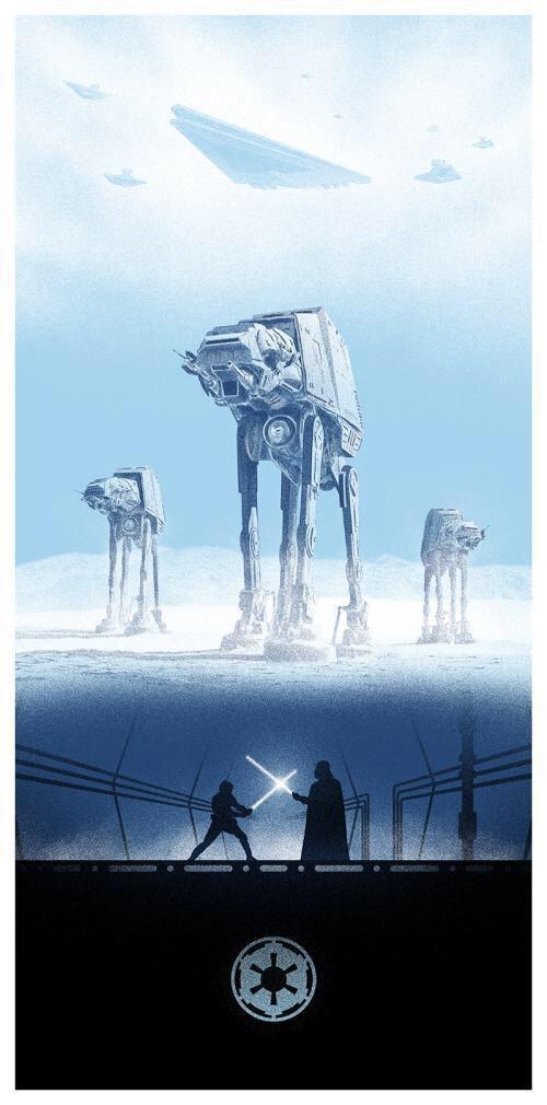 star wars posters illustrations