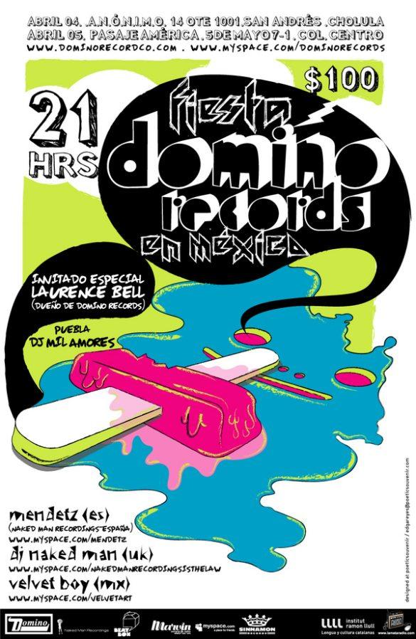 Domino Records in Mexico