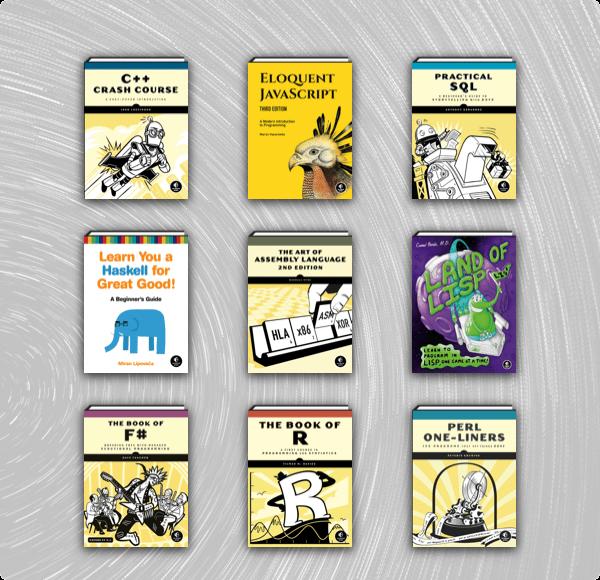 codingbookshelfnostarchpress bundle newsletter grid