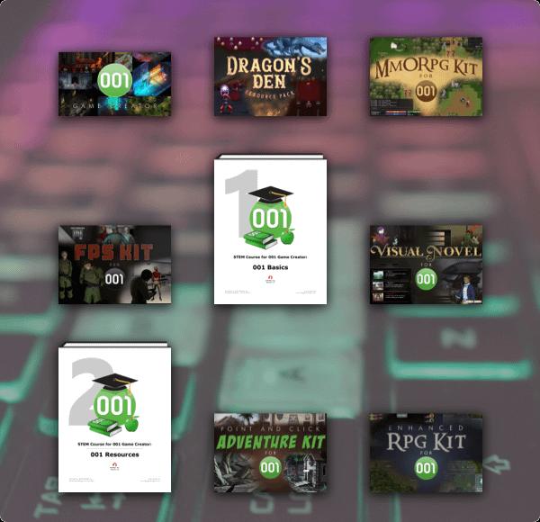 gamedevstem bundle newsletter grid