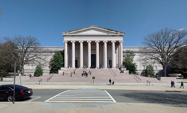 px National Gallery of Art West Building John Russell Pope National Mall Washington DC