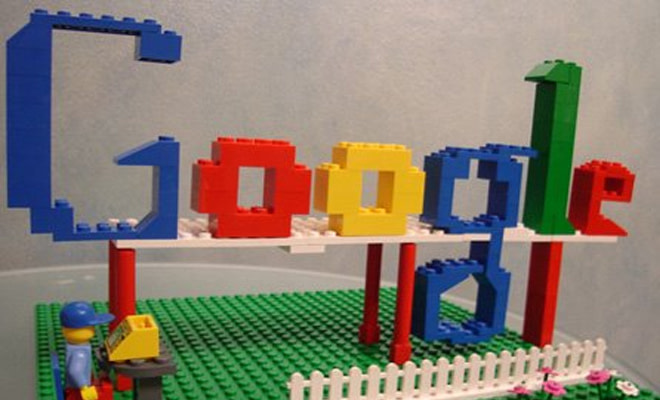 google logo legos