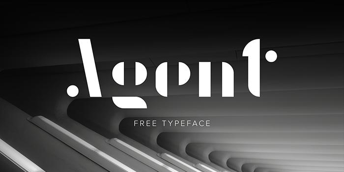 display fonts  agent