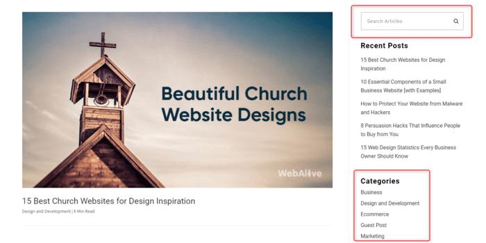 search categories webalive blog