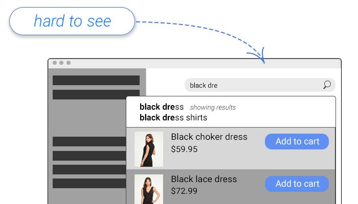 Search design text box