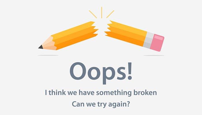 Something broken cant find