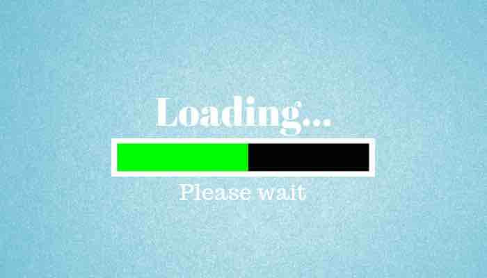 page loading