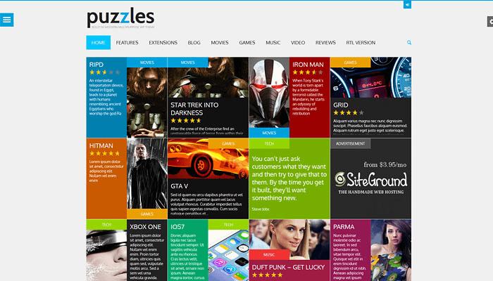 puzzles wordpress magazinereview