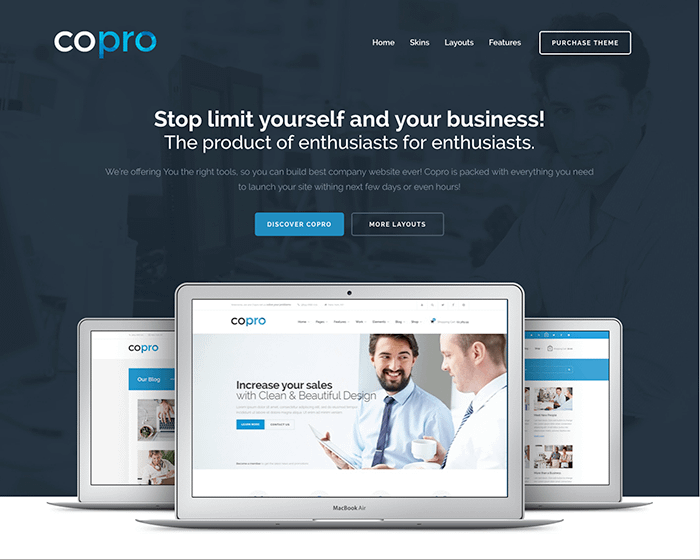 copro bootstrap theme