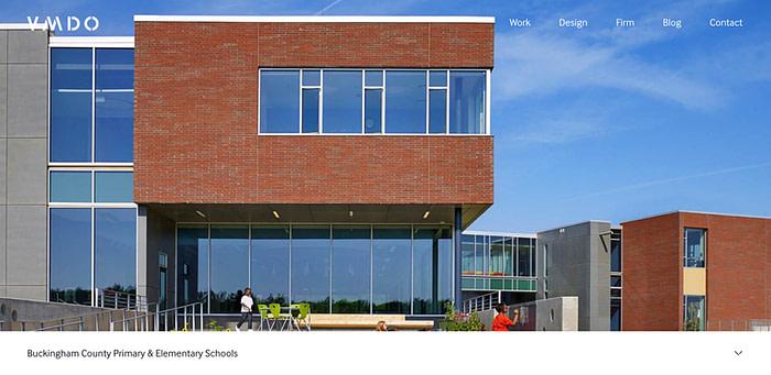Architecture Firm Website Designs
