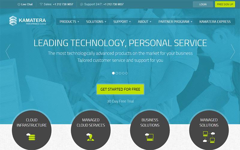 kamatera cloud service