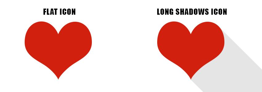 long shadows sample