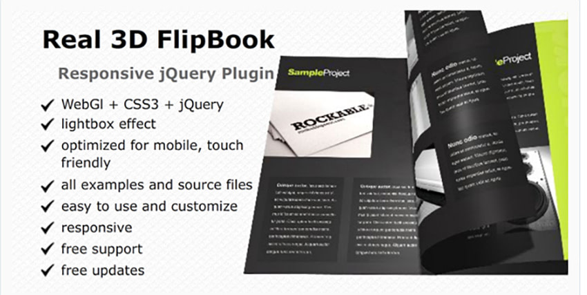RealD FlipBook jQuery Plugin