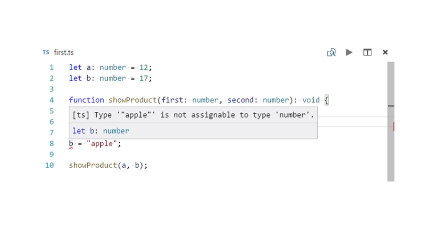 typescript error resize