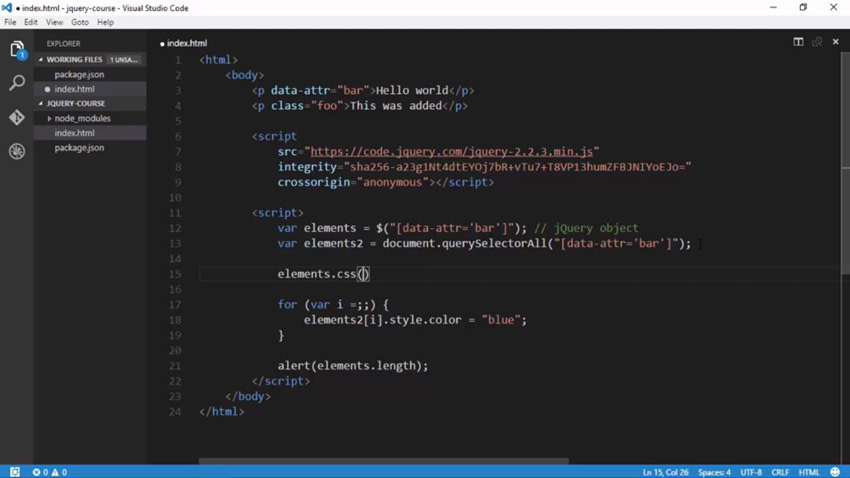 jQuery function