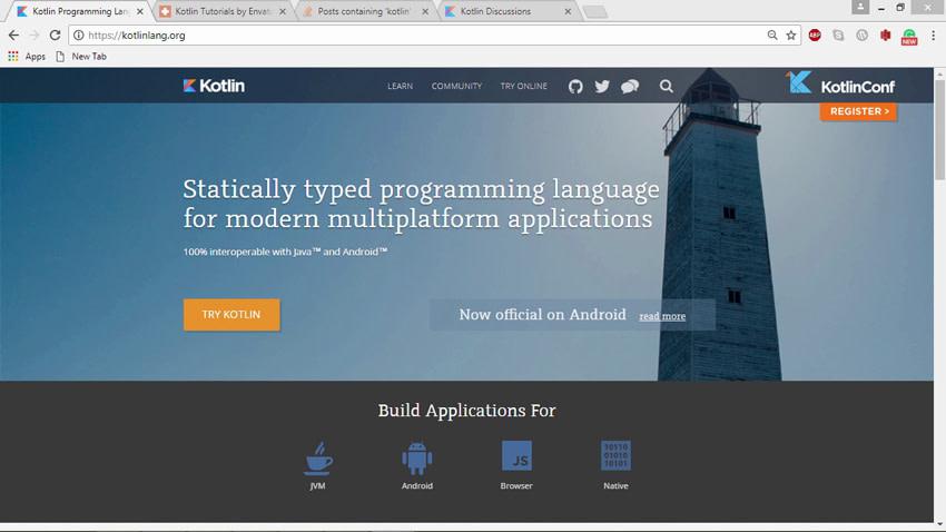 Kotlin website