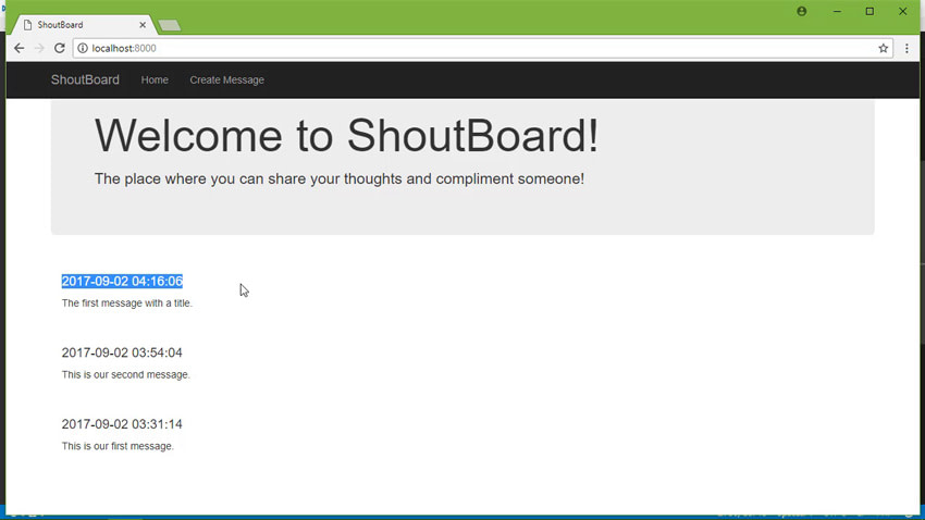 ShoutBoard