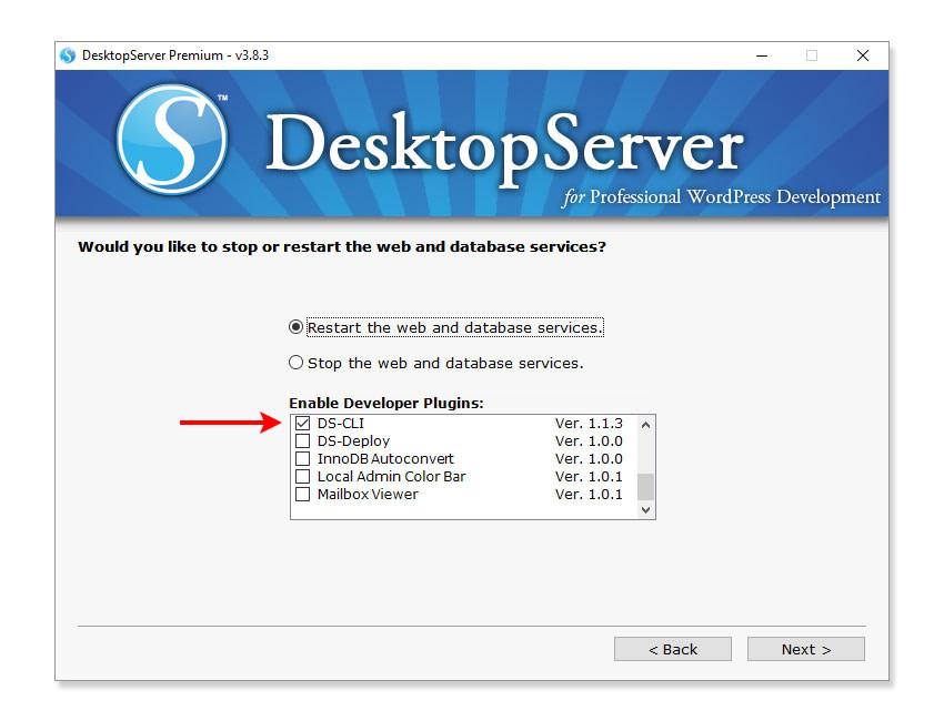 DesktopServerPlugin