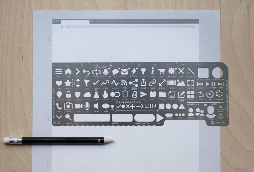 Wesbite Stencil Kit