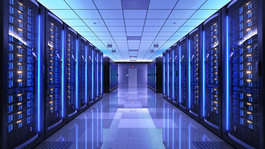 bigstock Server racks in server room da