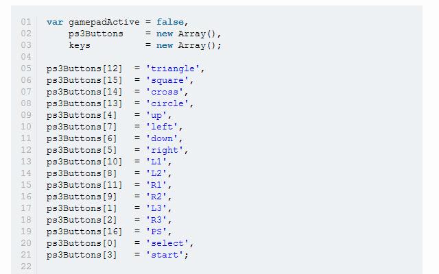html5 game development browser gamepad api tutorial