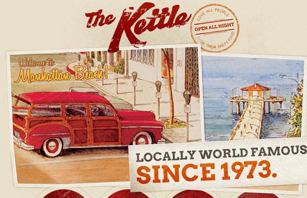 retro beige brown vintange website kettle