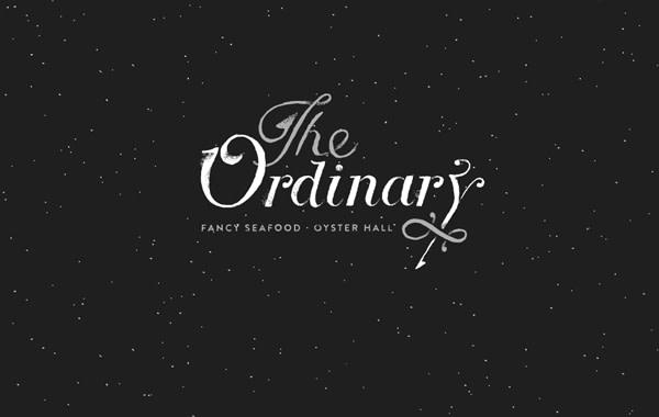ordnary restaurant website interface dark seafood